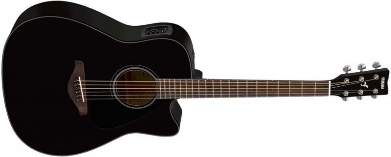 Электроакустическая гитара Yamaha FGX800C BL