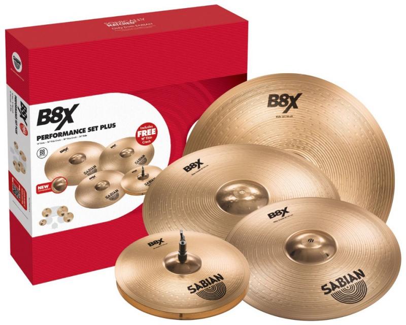 Набор тарелок Sabian B8X Promotional Set