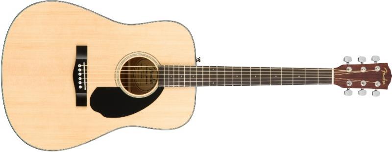 Акустическая гитара Fender CD-60S Natural