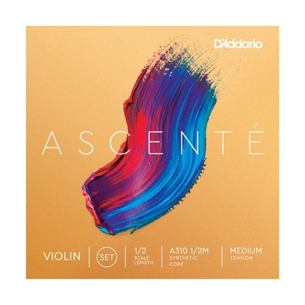 Струны для скрипки D'addario A310 1/2M Ascente Violin Strings 1/2M