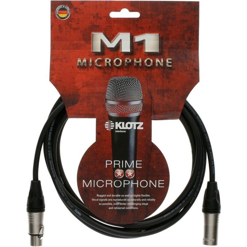 Микрофонный кабель KLOTZ M1K1FM0100