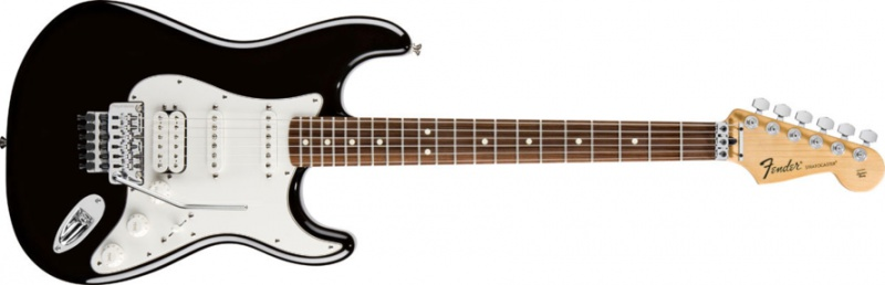 Электрогитара Fender Standard Stratocaster HSS FR RW Black