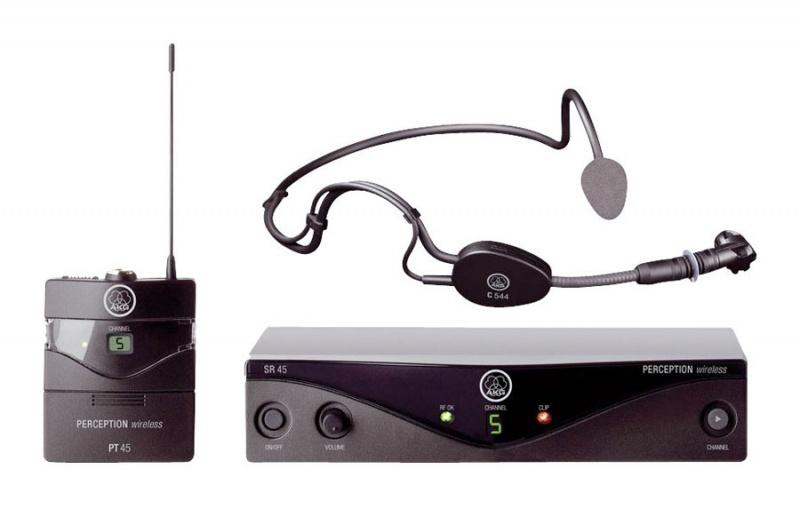 AKG Perception Wireless 45 Sports Set BD C1 радиосистема с микрофоном