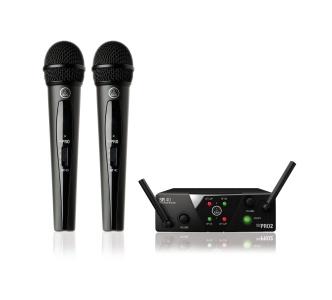 AKG WMS40 Mini2 Vocal Set BD US45A/C EU/US/UK вокальная радиосистема с приёмником