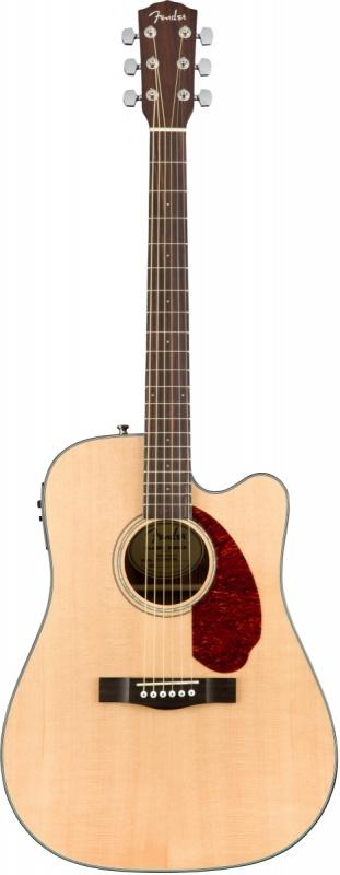 Электроакустическая гитара FENDER CD-140SCE NAT w/case Электроакустическая гитара