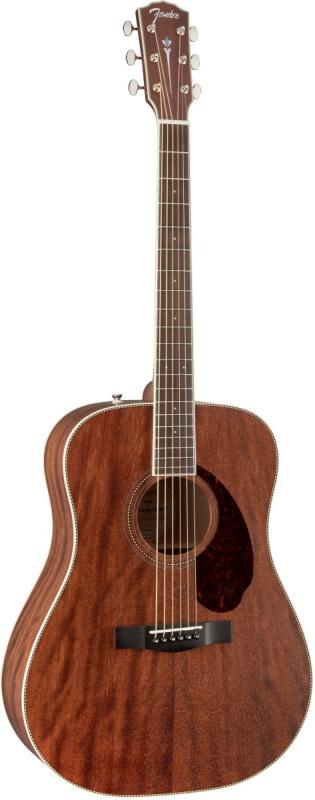 Акустическая гитара Fender PM 1 Deadnought All Mahogany With Case Natural Акустическая гитара