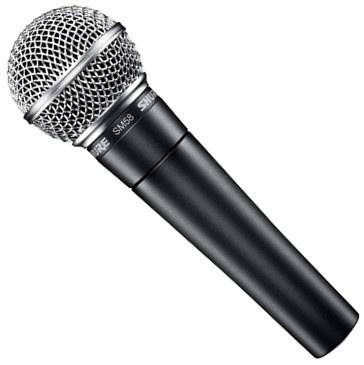 Мікрофон SHURE SM58LCE