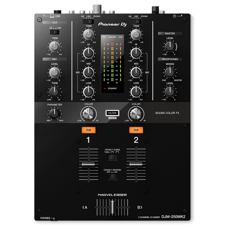 Микшерный пульт для DJ Pioneer DJM-250MK2