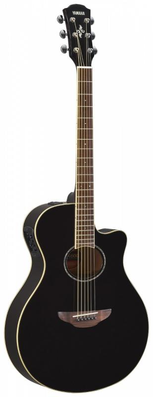 Электроакустическая гитара Yamaha APX600 BLK