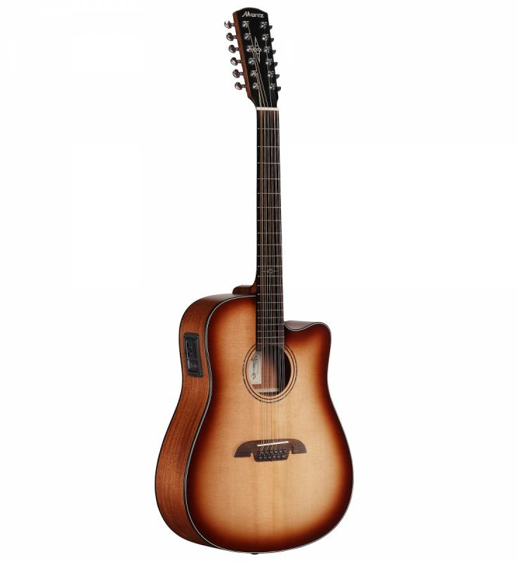 Электроакустическая гитара Alvarez AD6012CESHB