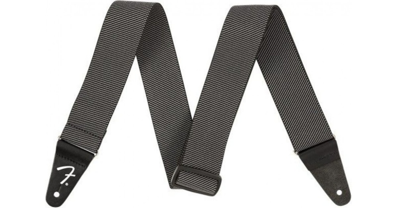 Ремень для гитары FENDER WEIGHLESS TWEED STRAP, GREY