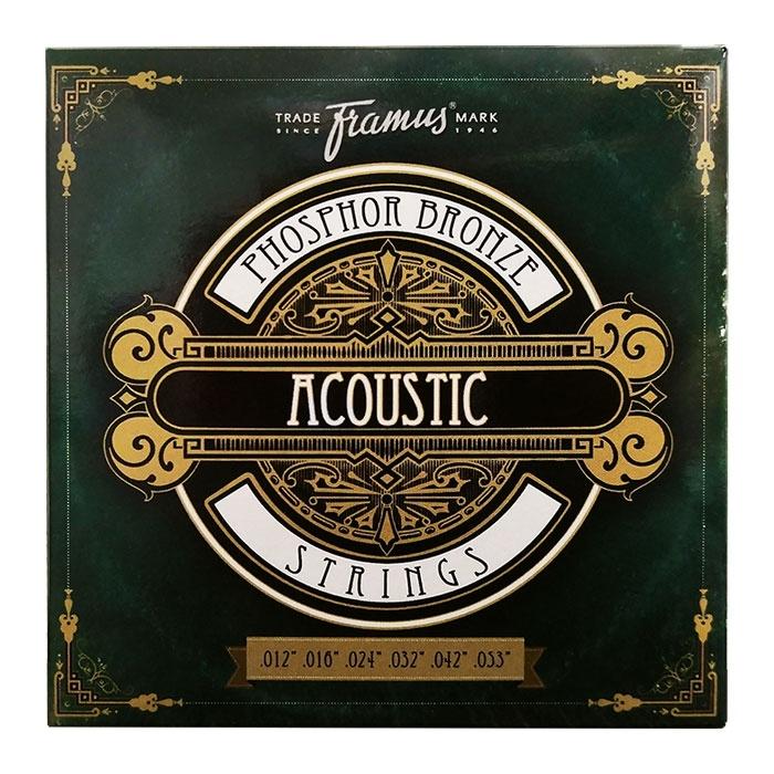 Струны для акустической гитары FRAMUS 47220