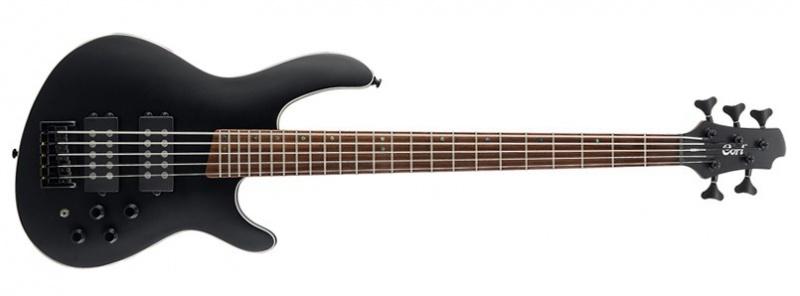 Бас-гитара CORT C5H BKS