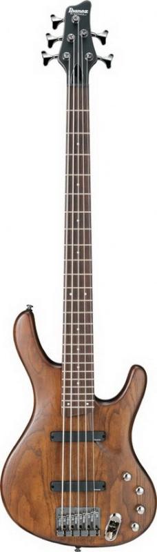 Бас-гитара IBANEZ EDB555 WALNUT FLAT