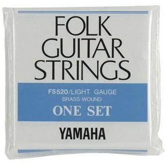 Струны для акустической гитары YAMAHA FS520