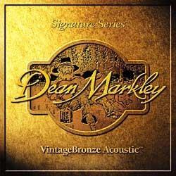 Струны для акустической гитары DEAN MARKLEY 2206 VintageBronze Acoustic MED12