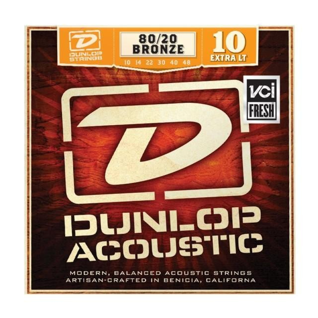 DUNLOP DAB1048 BRONZE 80/20 EXTRA LIGHT