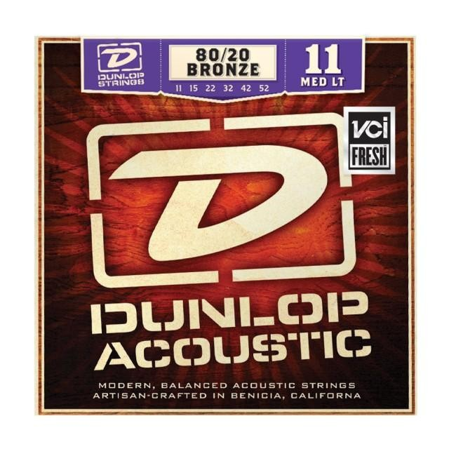 DUNLOP DAB1152 80/20 BRONZE MEDIUM LIGHT