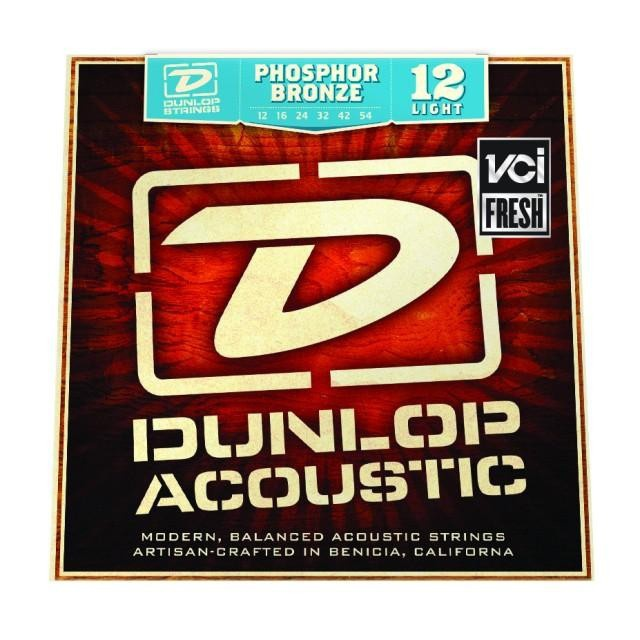 DUNLOP DAP1254 PHOSPHOR BRONZE LIGHT
