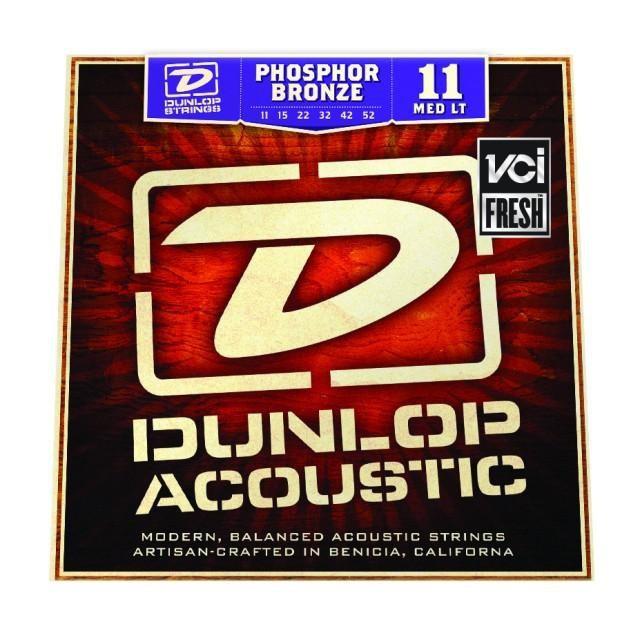 Струны для акустической гитары DUNLOP DAP1152 PHOSPHOR BRONZE MEDIUM LIGHT